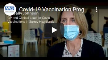 Covid-19 Vaccination Programme, in conversation with Dr Sally Johnson