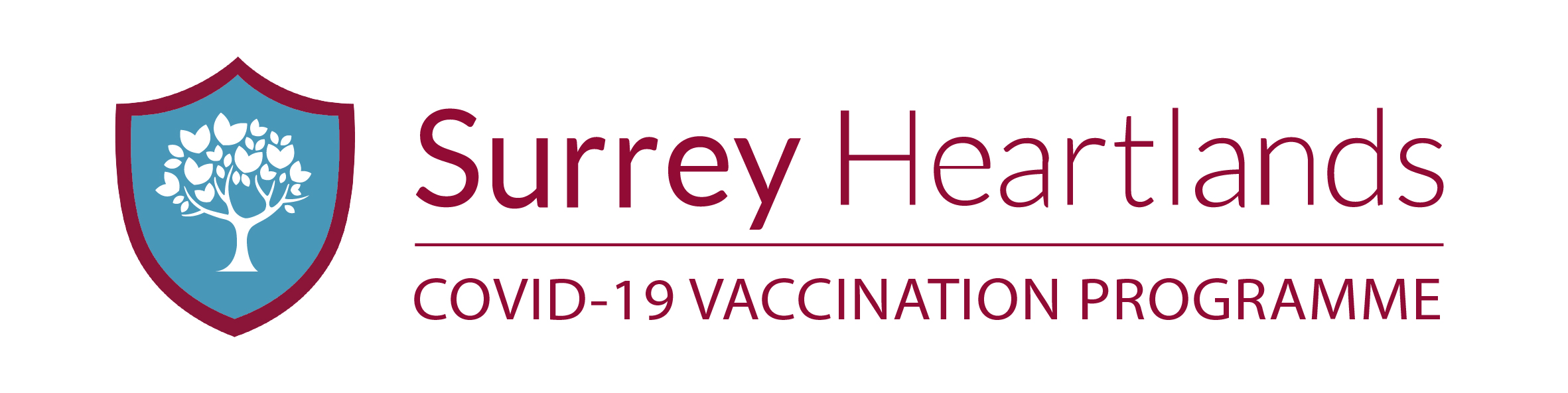 Surrey Heartlands Covid-19 Vaccination Programme Logo